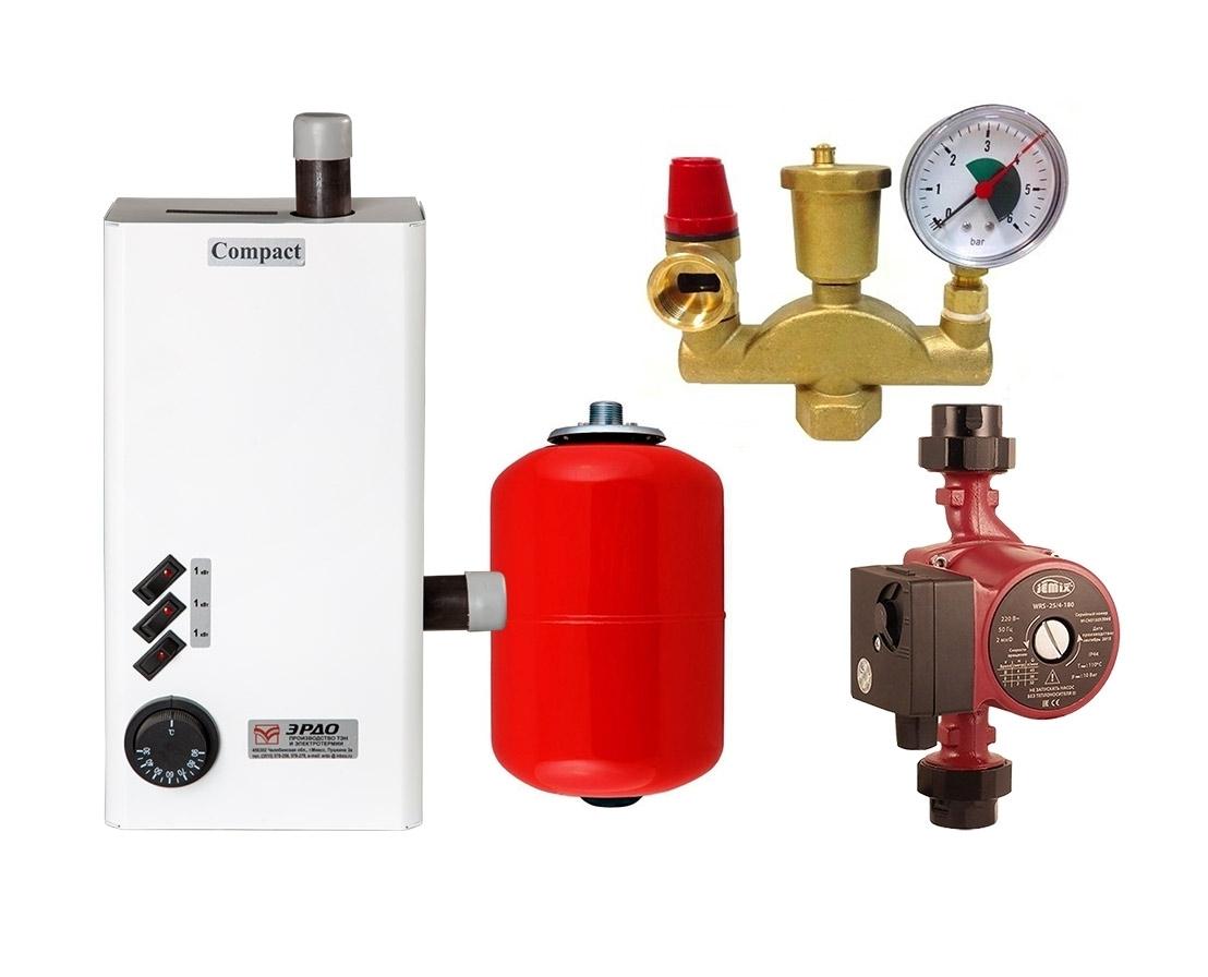 Монтаж группы безопасности для отопления с расширительным баком