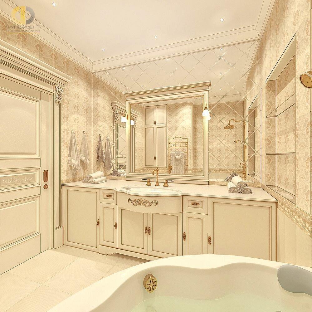 Ванная в классическом стиле: дизайн интерьера