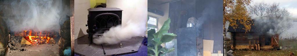 Основные причины, почему печь дымит, и способы их устранения
