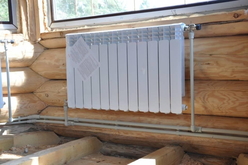 Отопление частного деревянного загородного дома своими руками