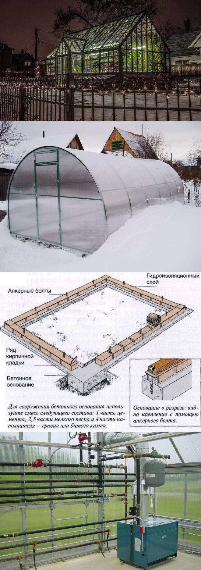 Зимняя теплица своими руками - самая подробная инструкция!