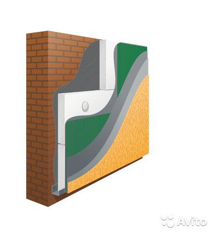 Мокрый фасад - технология монтажа, цена за метр и необходимые материалы