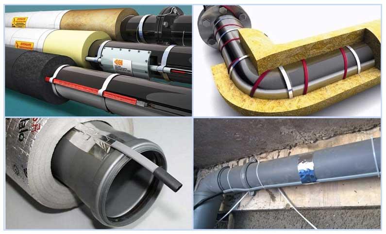 Как утеплить трубы водоснабжения на улице?