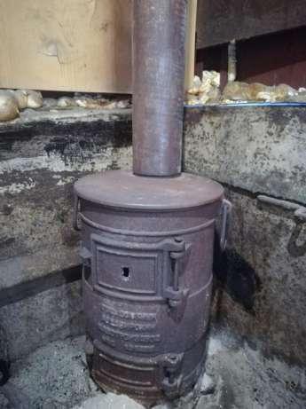 Печь-буржуйка для дачи