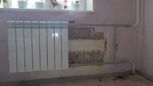 Монтаж стального радиатора своими руками