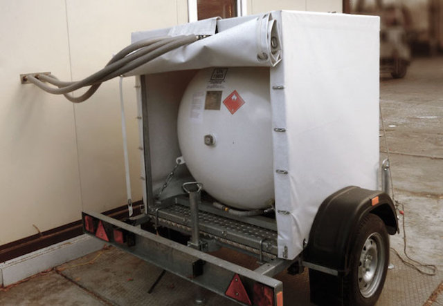 Мобильный газгольдер на прицепе: преимущества использования, условия хранения и эксплуатации