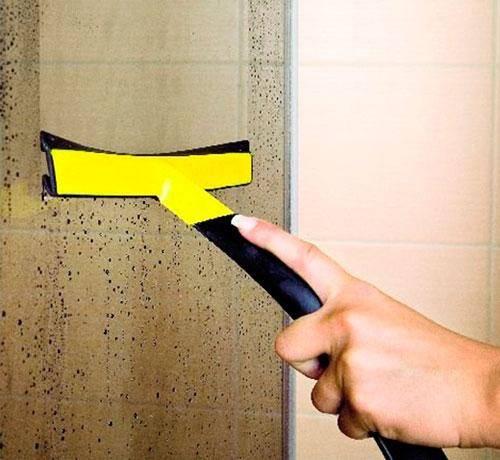 Как отмыть душевую кабину от мыльного, известкового налета в домашних условиях