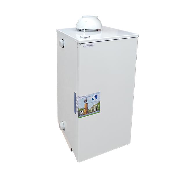 Напольный одноконтурный газовый котёл очаг  на 15 квт