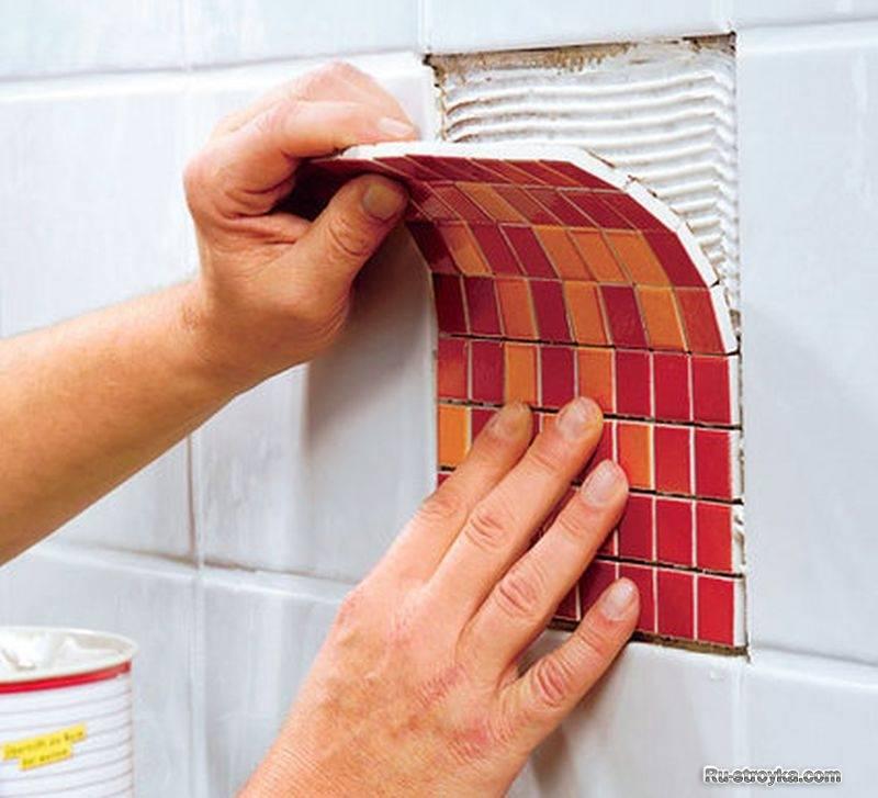 Как обновить старую кафельную плитку в ванной: бюджетный вариант