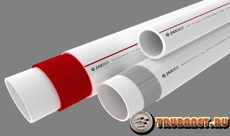 Армированные полипропиленовые трубы: достоинства и недостатки, маркировки труб, их технические параметры