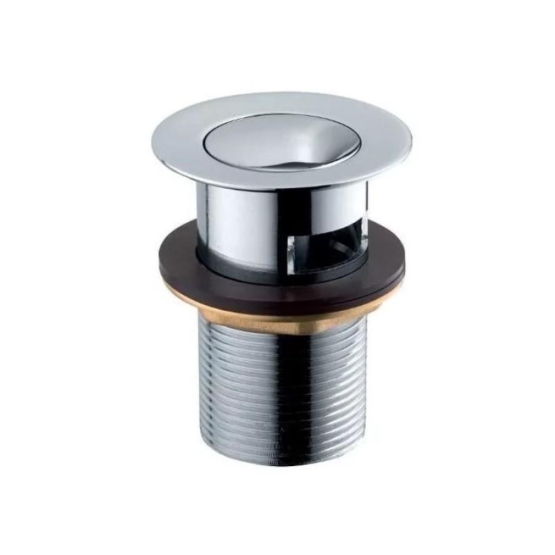 Установка смесителя из бронзы и сифона для умывальника с донным клапаном