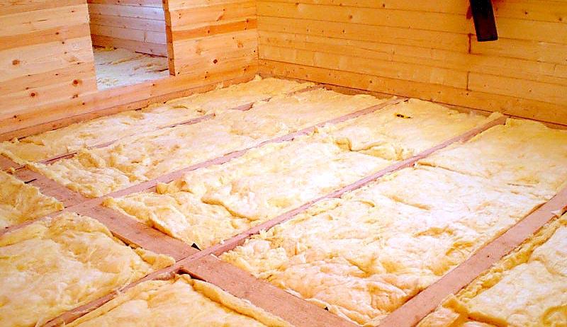 Утепление пола по лагам: материалы для теплоизоляции + схемы утепления
