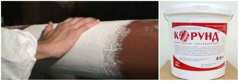 Керамическая теплоизоляция корунд. корунд теплоизоляция: особенности, достоинства и нанесение краски