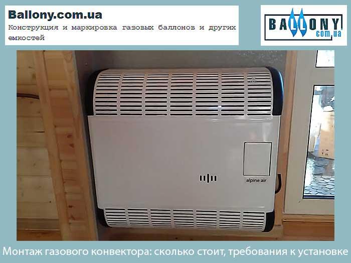 Выбор газового конвектора