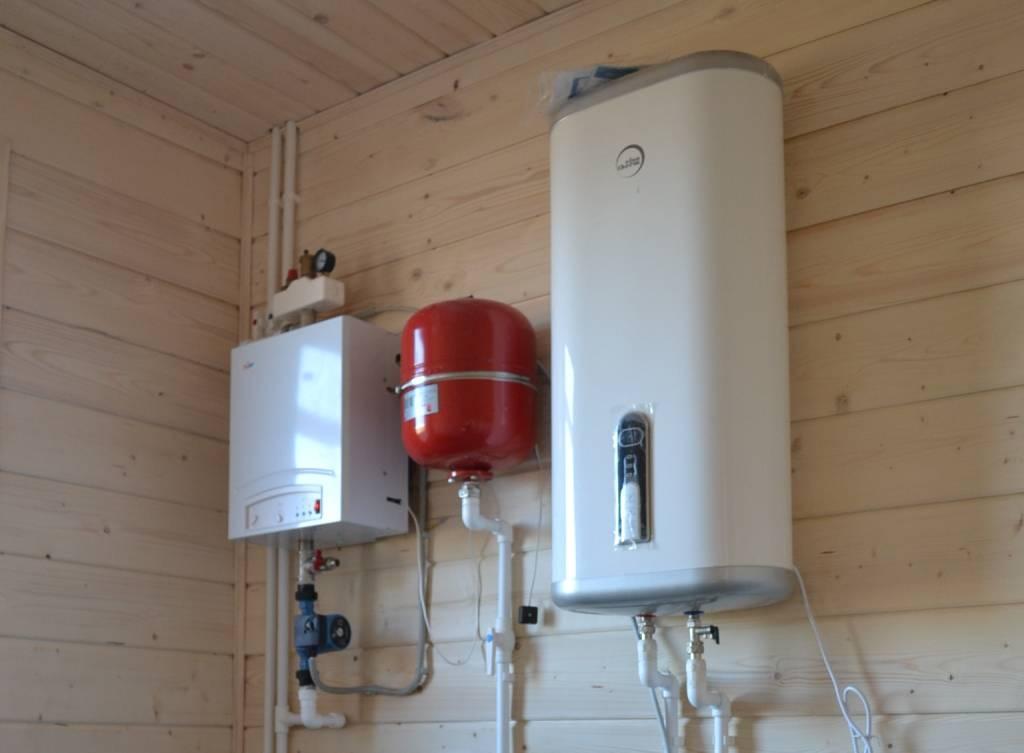 Электрический двухконтурный котел отопления частного дома