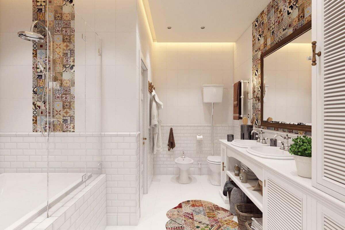 Изысканная простота – ванная в скандинавском стиле