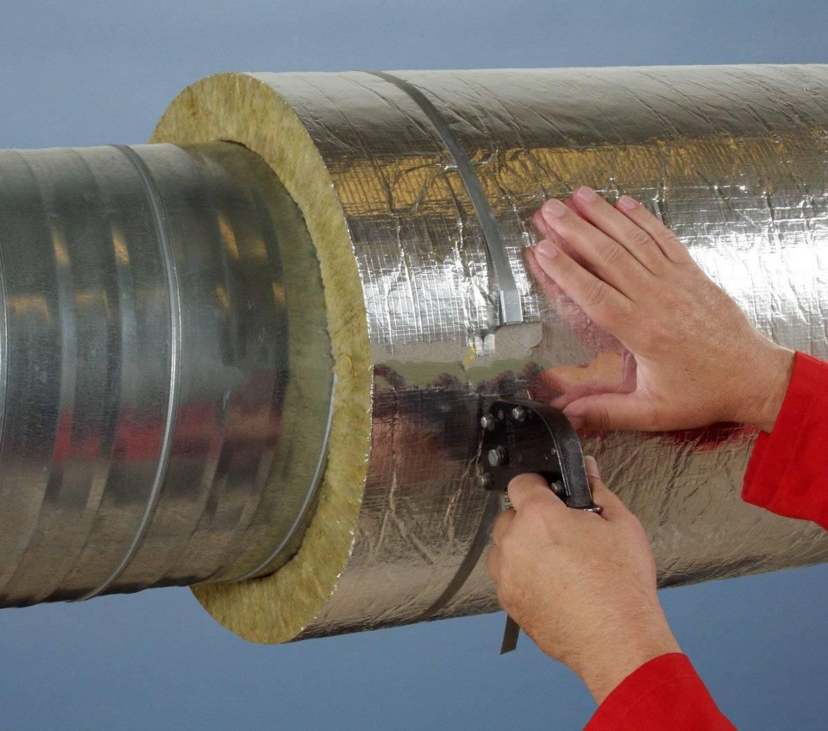 Как утеплить трубу дымохода своими руками, чем изолировать металлический дымоход