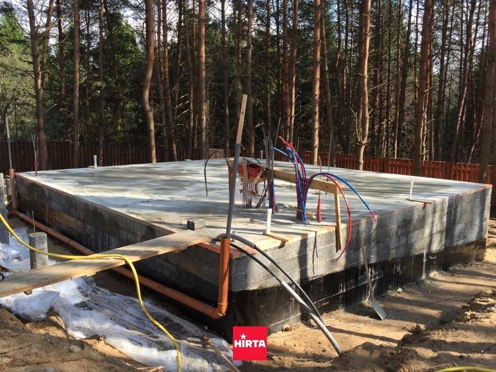 Ушп фундамент: технология устройства шведской утеплённой плиты