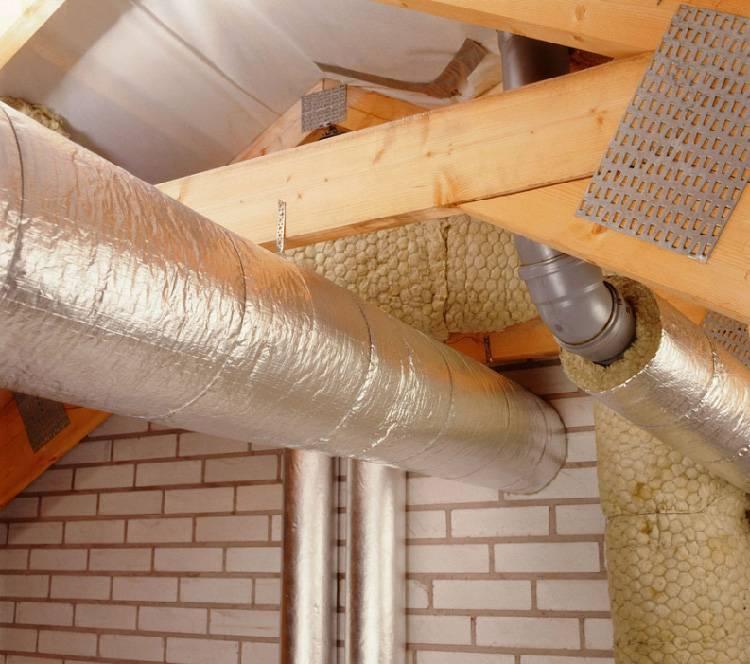 Как утеплить дымоход из кирпича, инструкция