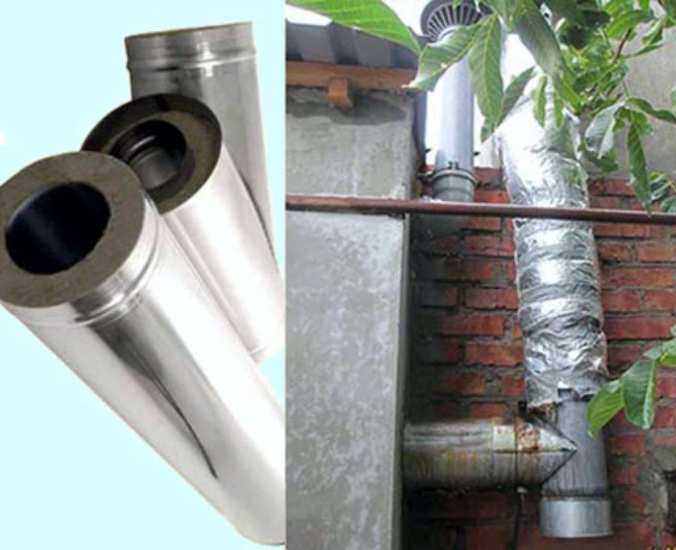 Как правильно смонтировать дымоход для твердотопливного котла