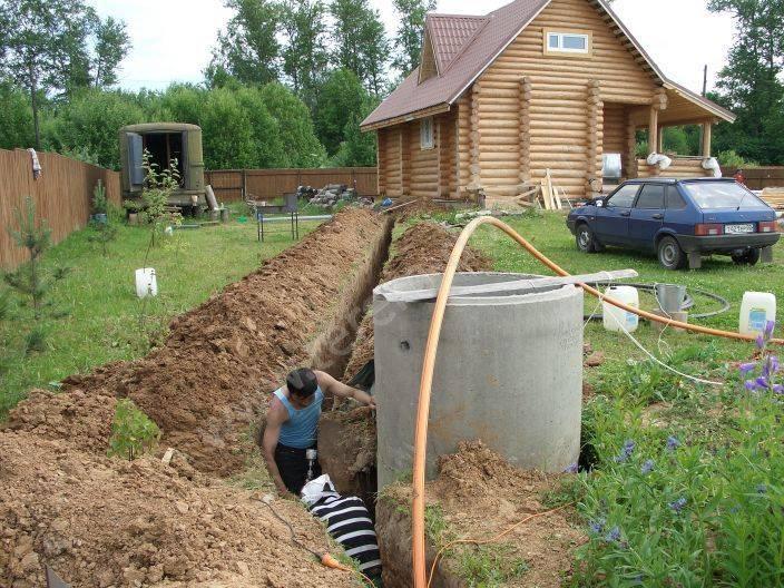 Водопровод на даче из колодца – общие рекомендации по устройству