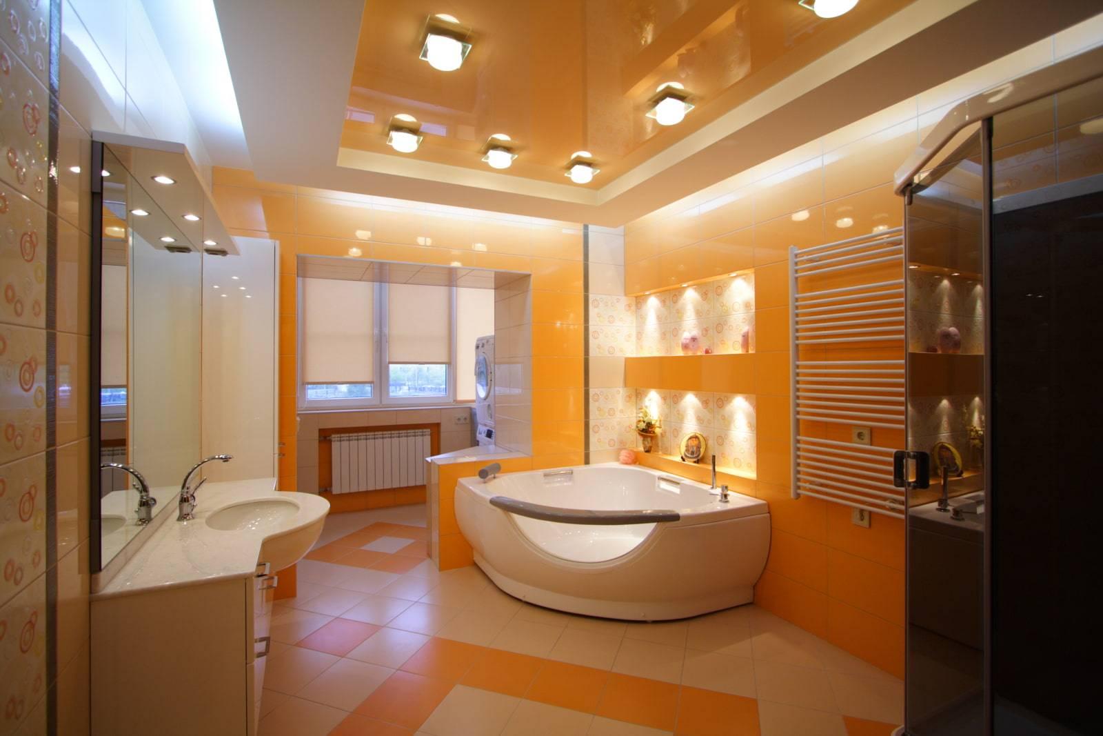 Освещение в ванной комнате: советы по выбору, расположение, идеи дизайна