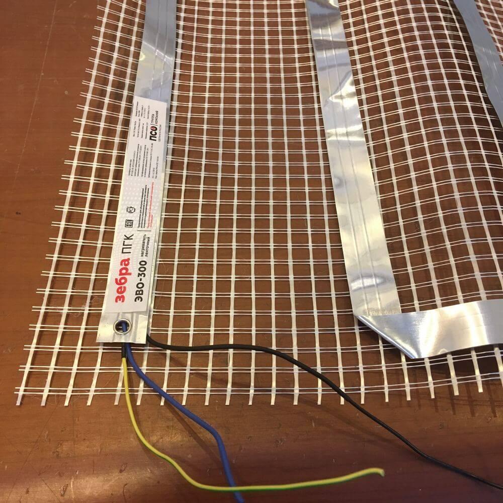 Пленочное инфракрасное отопление, система зебра, установка своими руками: инструкция, фото и видео-уроки, цена