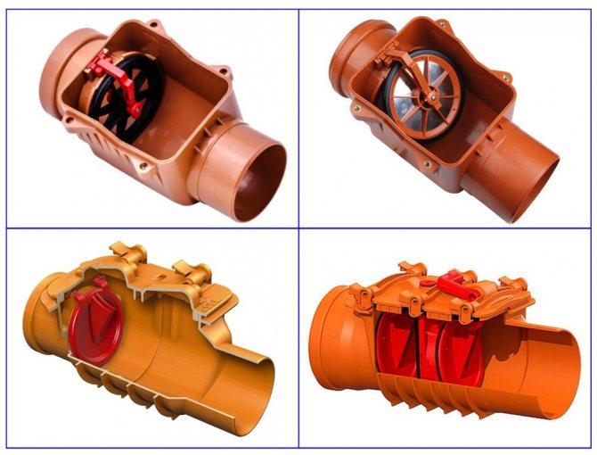 Обратный клапан для канализации: устройство, правила установки, подробные инструкции с фото и видео