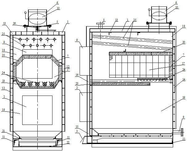 Пиролизная печь своими руками: чертежи, схема, пошаговая инструкция и прочее+ видео