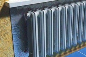 Как правильно монтировать теплоотражающий экран за батареей