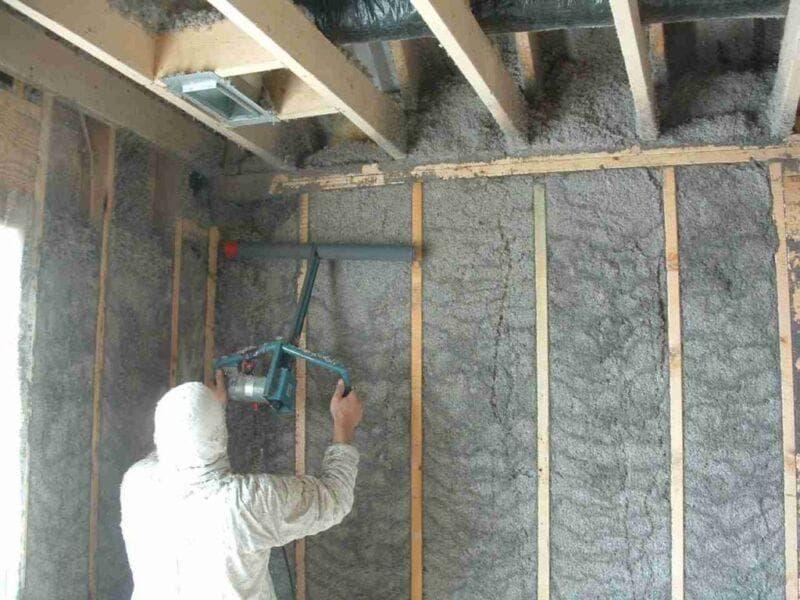 Методы утепления деревянного дома эковатой. снаружи и изнутри