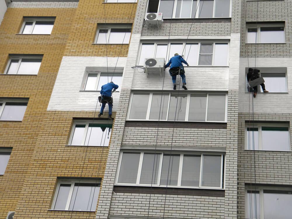 Утепление фасадов многоквартирных домов снаружи