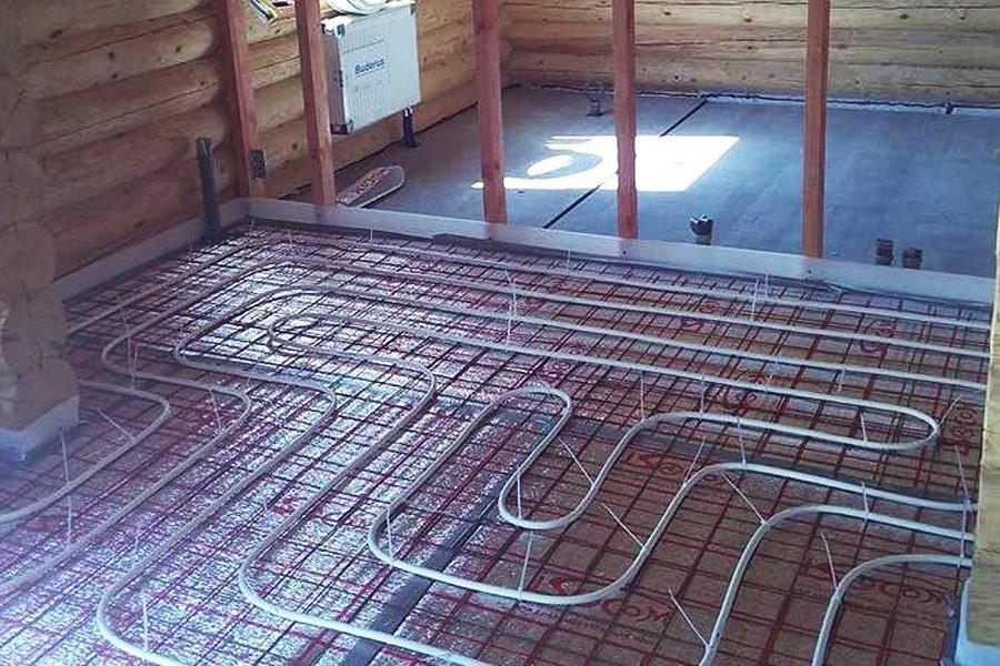Отопление в деревянном доме - обзор видов отопительных систем