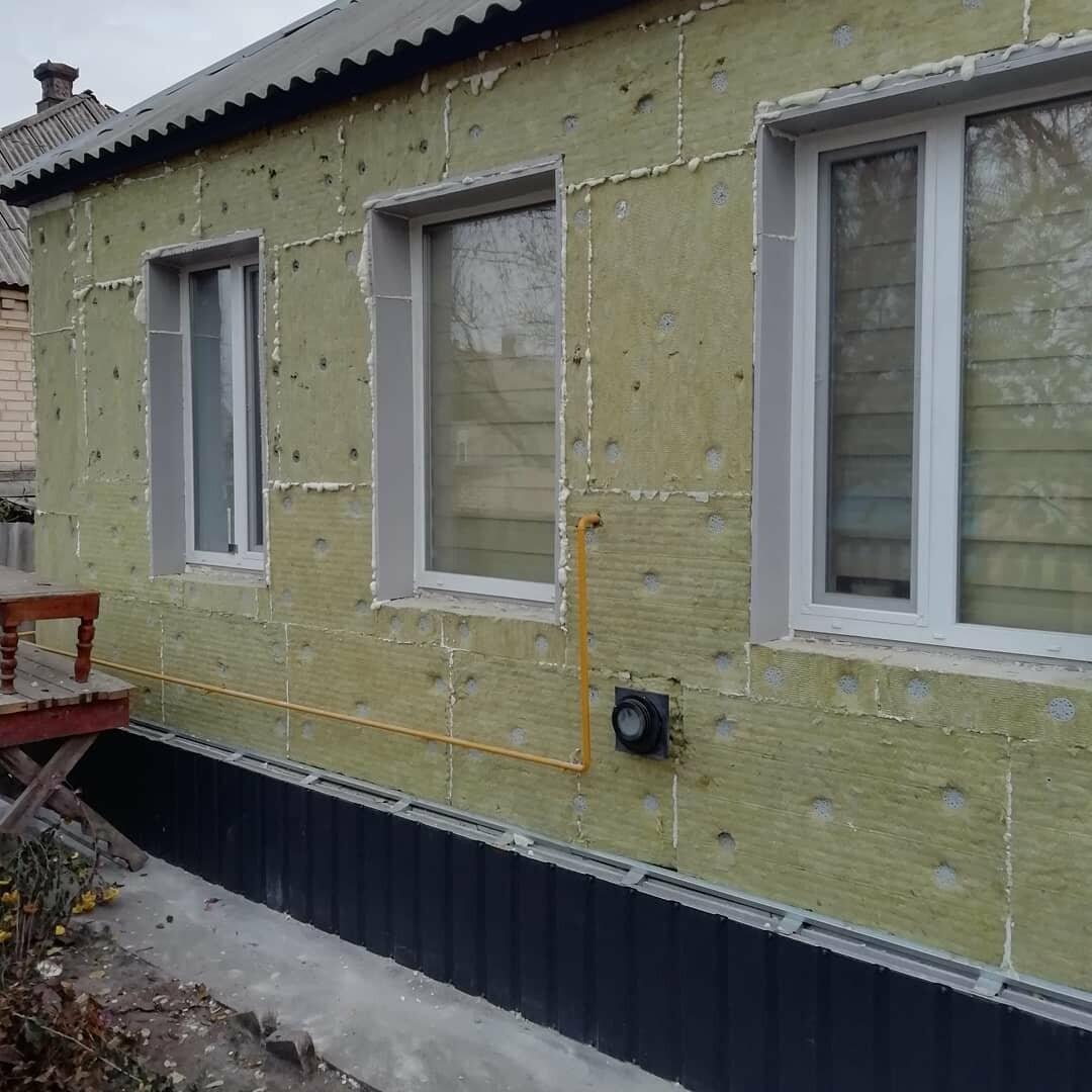 Утепление деревянного дома минватой снаружи под сайдинг