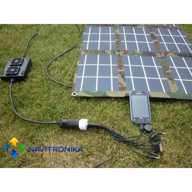Пошаговая инструкция по изготовлению раскладной солнечной батареи для туристов