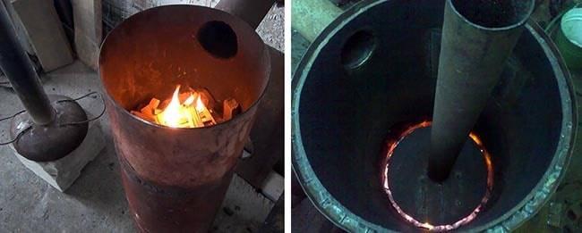 Печи бубафоня: пошаговая инструкция по сборке
