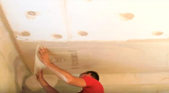 Утепление потолка в подвале дома частного изнутри пеноплексом и в гараже