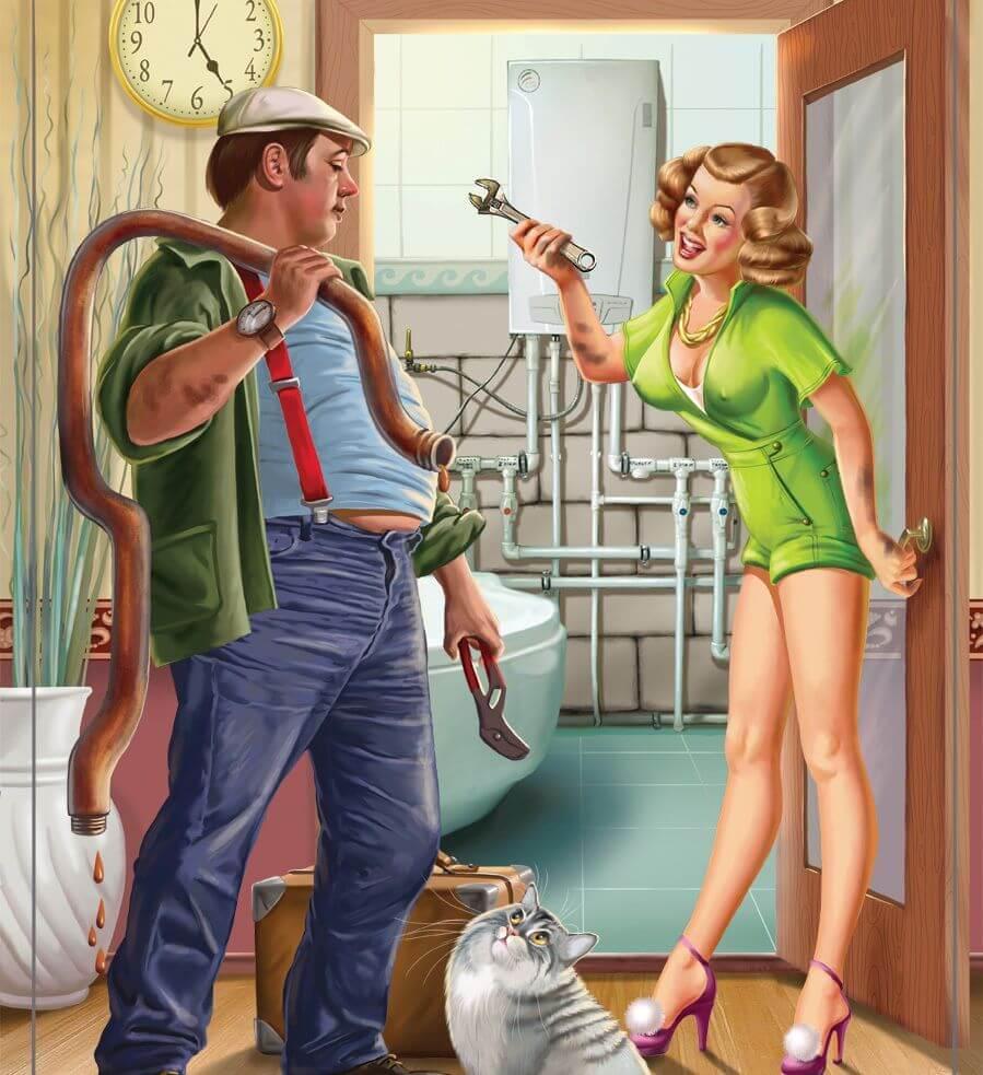 Перед женитьбой он заявил: убери мою квартиру, чтобы я понял какая ты хозяйка. однако взамен чинить мой унитаз не стал - интернет странник