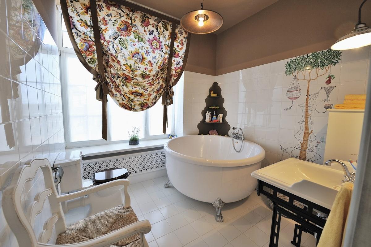 Ванные комнаты в стиле «прованс»: французское очарование и уют
