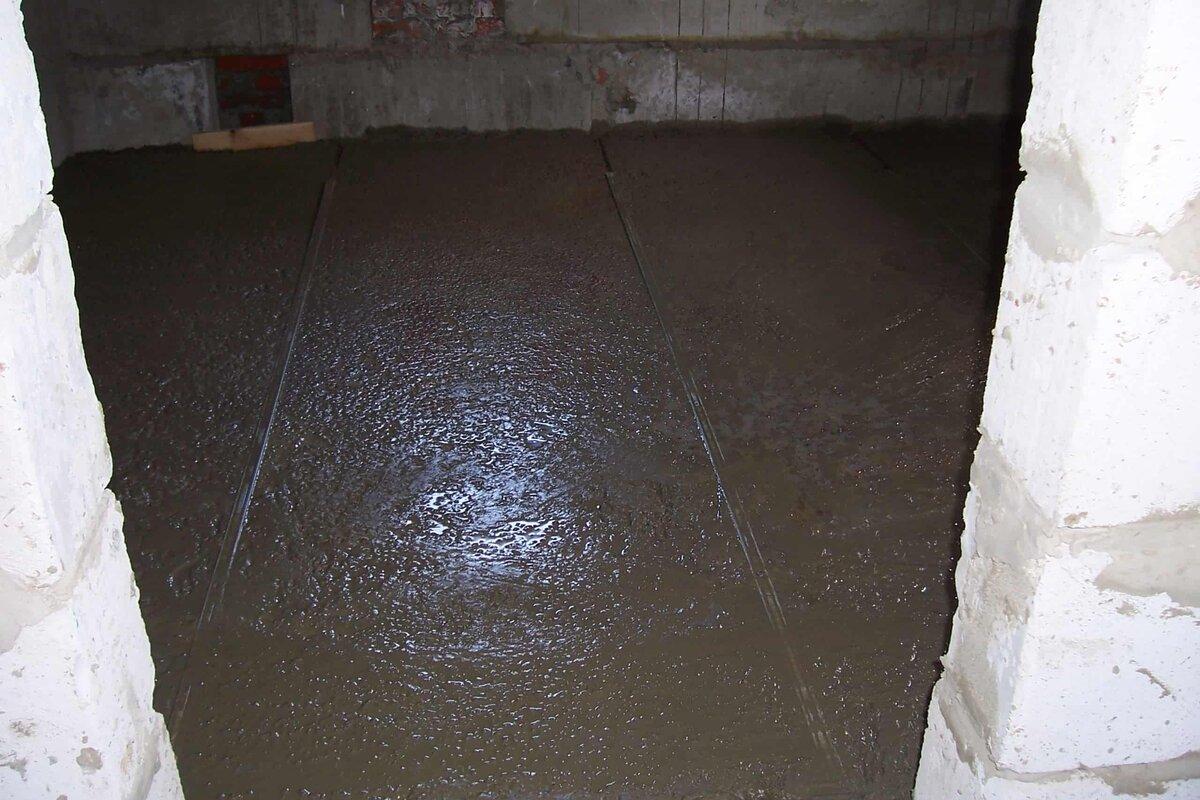 Утепление бетонного потолка изнутри