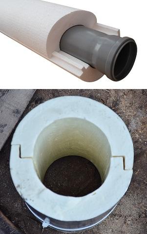 Как утеплить канализационную трубу - утепление канализационных труб