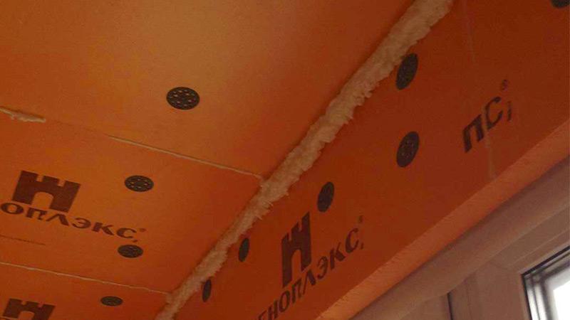 Утепление балкона пеноплексом своими руками: пол, потолок, изнутри