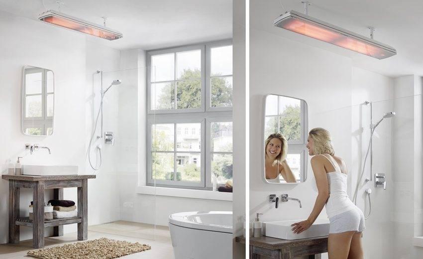 Какой обогреватель для ванной комнаты лучше: электрический, инфракрасный, жидкостный