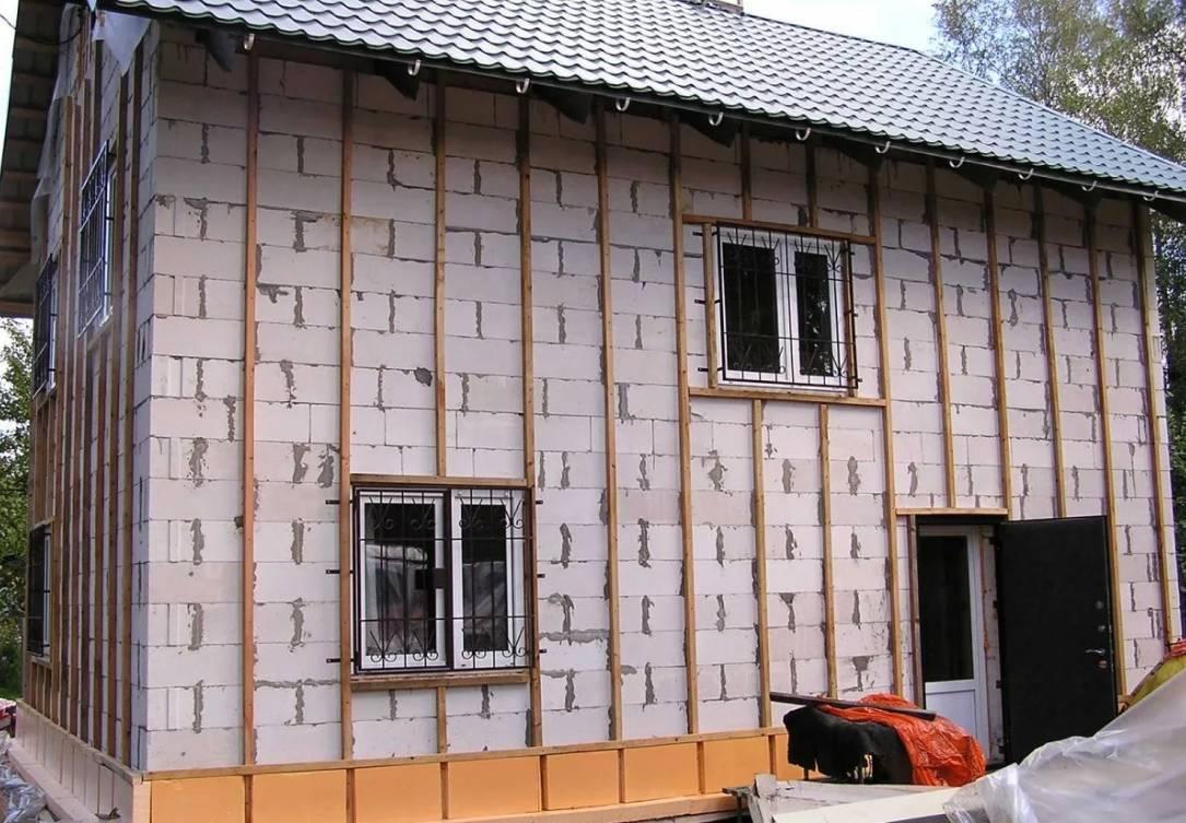 Чем утеплить фасад дома из газосиликатных блоков, утепление газосиликатных стен