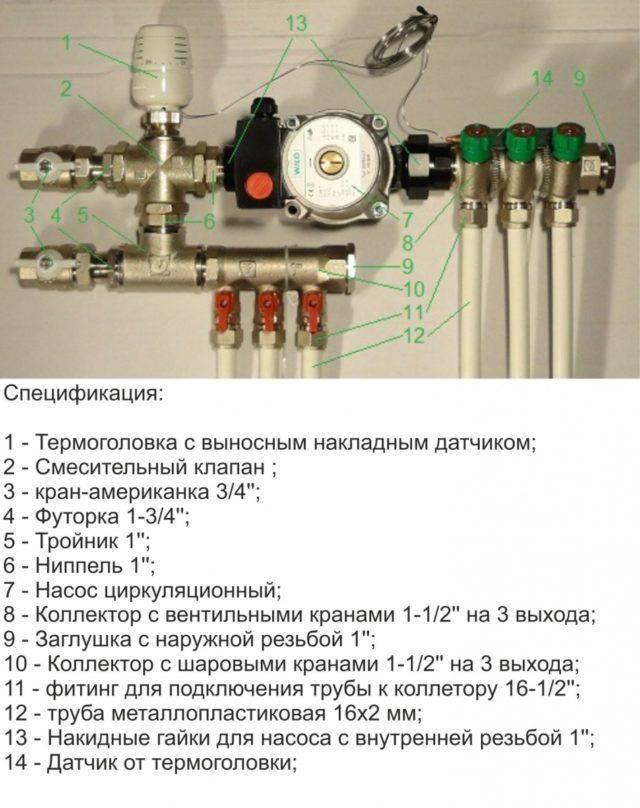 Принцип клапана трехходового: чем хорош термостатический смеситель при регулировке температуры тёплого пола