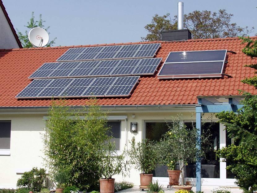 Подключение солнечных батарей для отопления частного дома