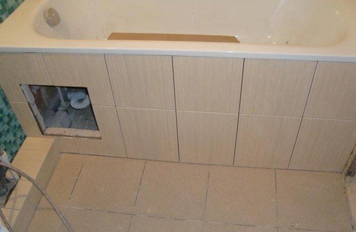 Экраны и каркасы для ванной: изготовление и установка самостоятельно