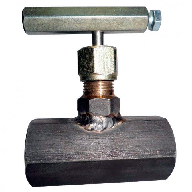 Вентили для отопления: игольчатый, регулировочный, для радиатора и их фото