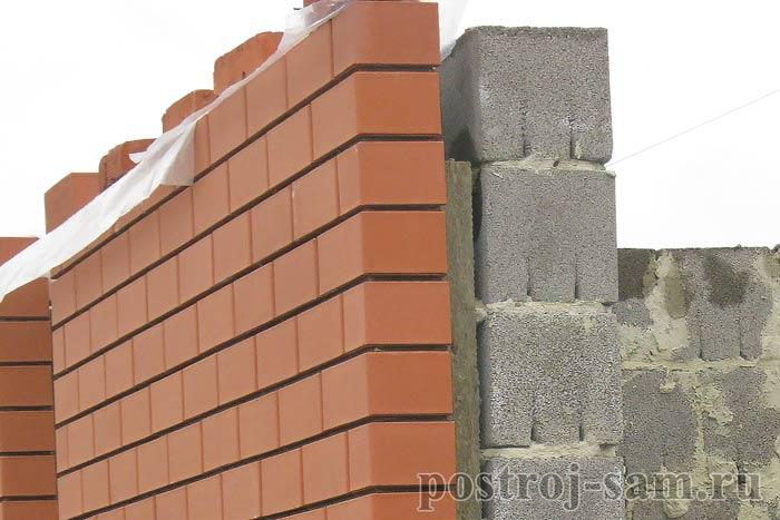 Утепление керамзитобетонных блоков стен снаружи и изнутри, как теплоизолировать баню и дом