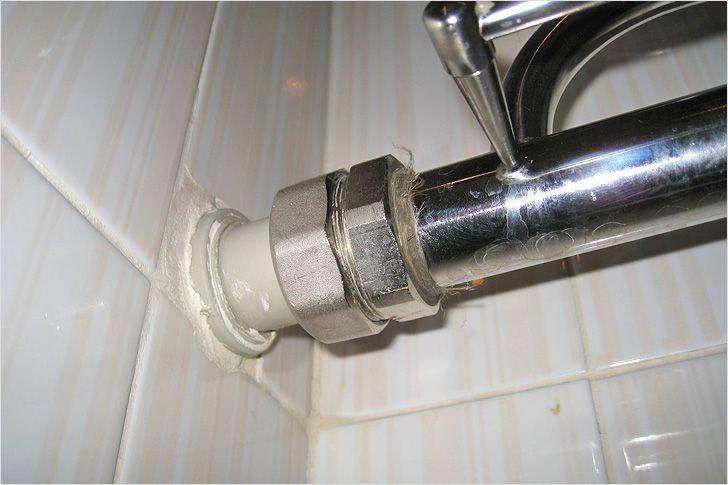 Как установить шаровой кран на металлопластиковую трубу